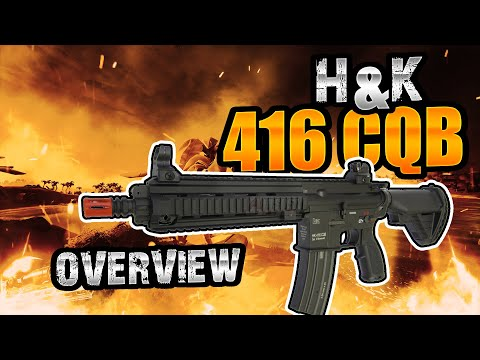 H&K 416 CQB Airsoft Rifle by VFC AEG Overview