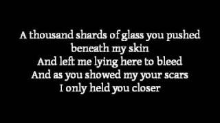 Apocalyptica ~ Broken Pieces (lyrics) ft. Lacey Mosley from Flyleaf