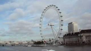 Londres - Desde el Big Ben con el Thames de Fondo
