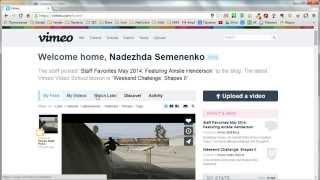 Vimeo. Как загрузить видео на Vimeo(В видеоуроке подробно рассмотрена загрузка видеороликов на сервис Vimeo. И важные настройки для отображения..., 2014-06-09T13:52:47.000Z)
