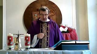 Msza święta niedzielna II Niedziela Adwentu 08 grudnia 2013