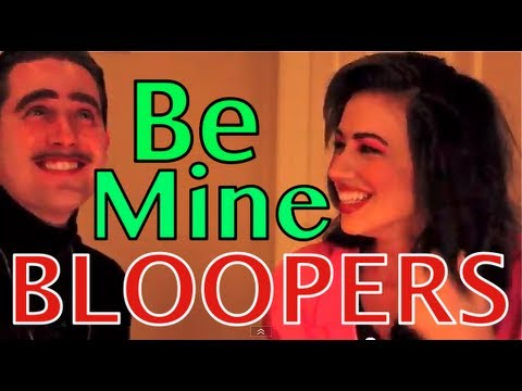 Be Mine For Christmas Bloopers!