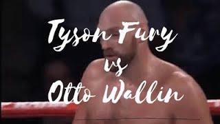 Tyson Fury vs Otto Wallin Full Fight Highlights 2019