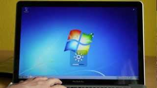 Technik - Windows 7 Installation auf MacBook Pro 15