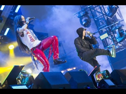 Eminem & Rihanna - The Monster Tour @ Detroit, Comerica Park 22.08.2014