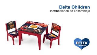 Delta Children Deluxe Table & Chair Set with Storage Assembly Video