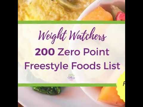 weight-watchers-200-freestyle-zero-points-foods-list-video