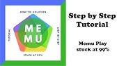 HOW TO FIX MEMU ANDROID EMULATOR STUCK AT 99% | FIX EASY