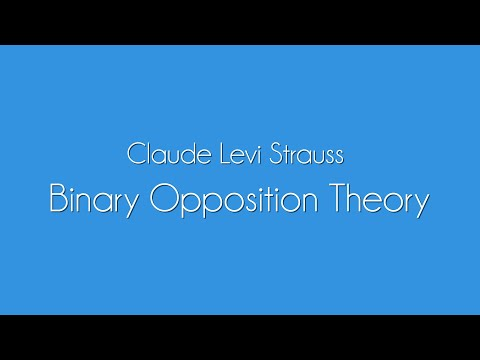 Claude Levi Strauss Theory Explained | Binary Opposites