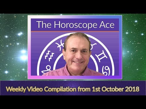 Weekly Horoscopes Compilation from 1st October 2018