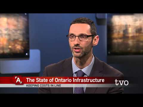 Matti Siemiatycki: The State of Ontario Infrastructure