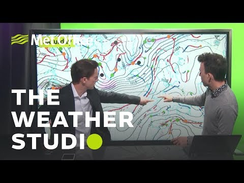 Warming up for Easter! – The Weather Studio 16/04/19