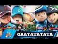 DJ GRATATA TATA (COVER PARODY) VERSI BOBOIBOY TAHAP 1,2,3, FUSION, ETC.