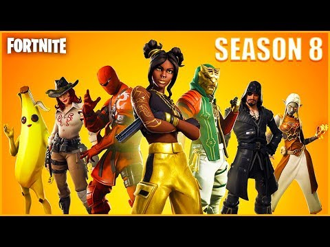 🔴 NEW SEASON 8 UPDATE! (FORTNITE BATTLE ROYALE)