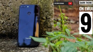 Turn on Dark Mode on Honor 9 lite and other Huawei/Honor devices running EMUI 9 or greater