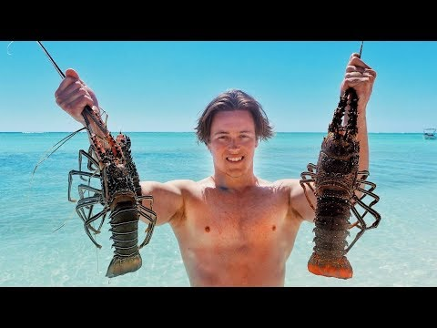 EP 13 - CRAYFISH HUNT In Paradise (Garlic Butter Recipe) | Catch N Fry