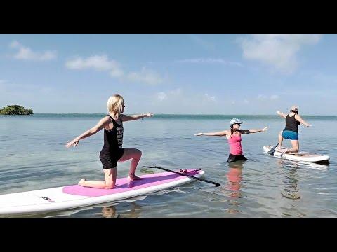 Florida Travel: Paddleboard Yoga in Bahia Honda State Park