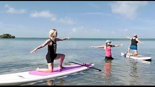 Paddleboard Yoga in Bahia Honda State Park