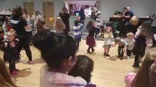 hokey cokey kids party DANCING with abagofun.com