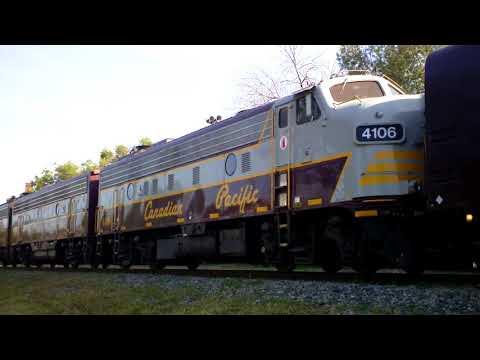 08.09.17 Canadian Pacific Canada 150 Train in Hamilton!