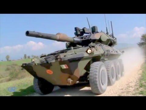 CIO - Centauro II 120/105 MGS 8X8 Armoured Vehicle [480p]