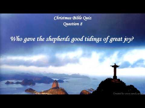Christmas Bible Quiz *** Questions and Answers