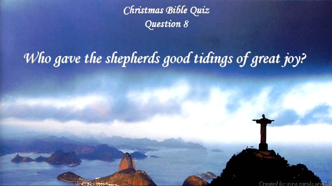 Christmas Bible Quiz *** Questions And Answers   YouTube