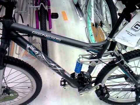 Genesis Saber 26 Inch Mountain Bike Review Youtube