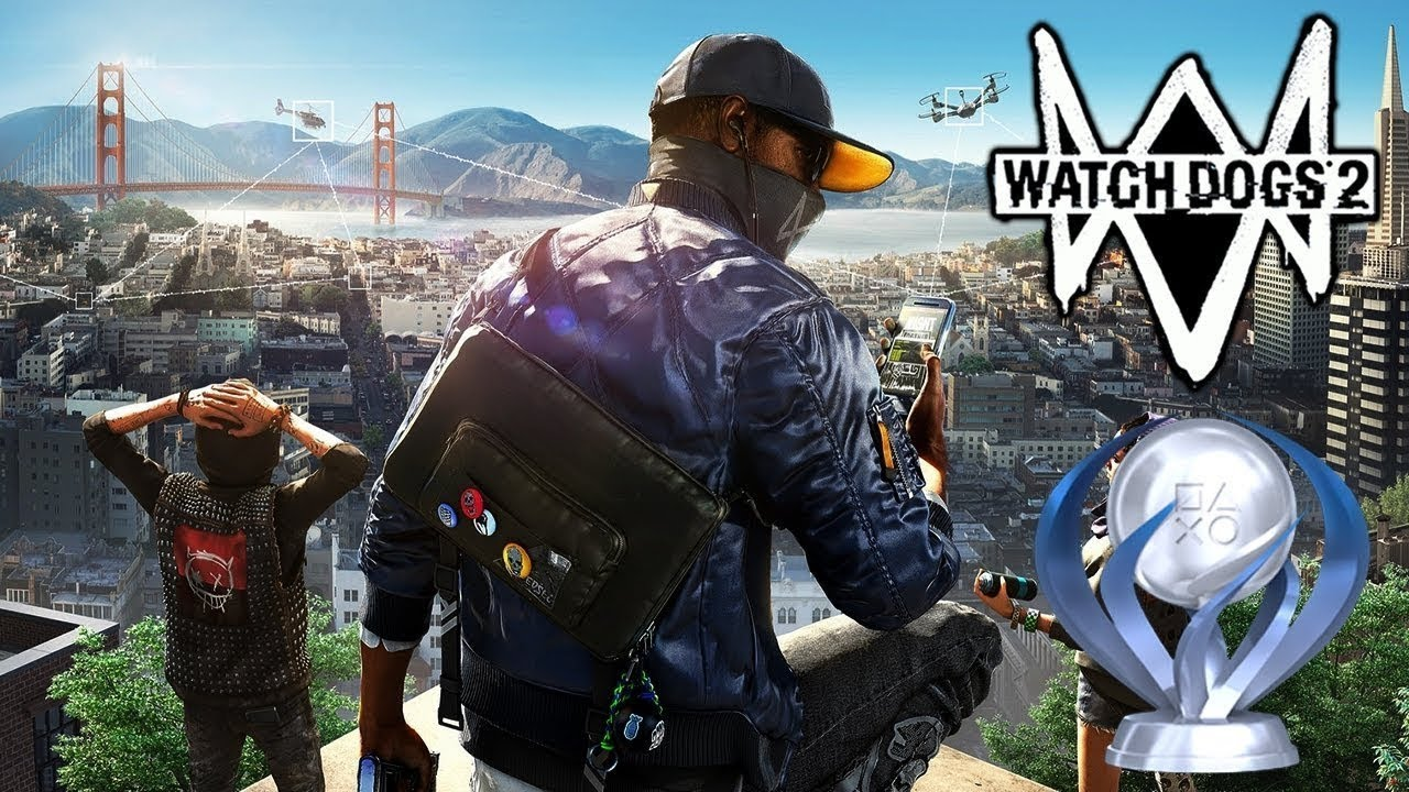 платина watch dogs 2