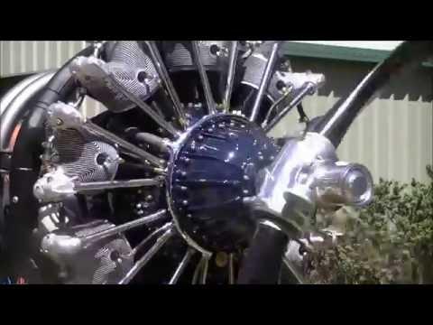 Pratt & Whitney R 1340 Restoration and initial start up