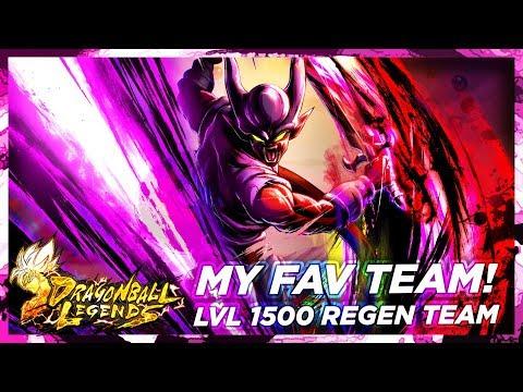 MY FAV TEAM! BEST Regeneration Team - Rating Matches | DB Legends