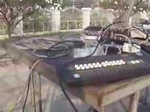 การตั้งตั้งระบบเสียงงานดนตรี พื้นๆง่ายๆ