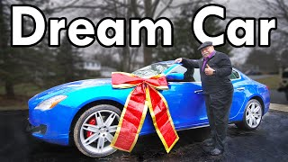 homepage tile video photo for Surprising my Dad with his Dream Car (75% off MSRP)!!!