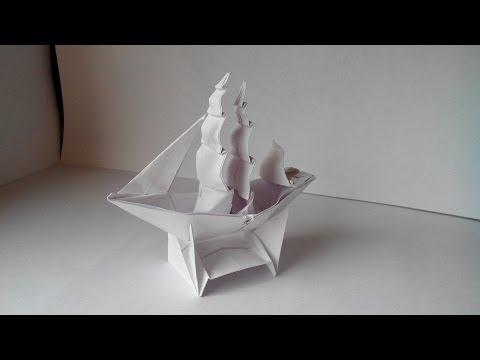 из бумаги (Origami Ship)