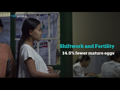 Occupational Effects on Fertility: Report: Shift work lowers fertility in women