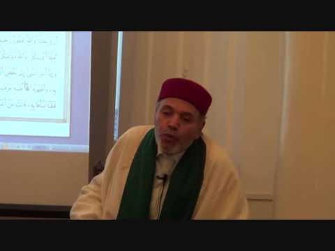 Dr Kamel Omrane 03 05 2013 mosquée Berges du Lac - Véritées sur Taher Haddad