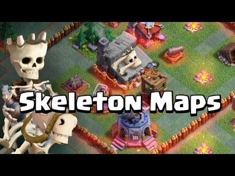 The Skeleton Maps: Clash of Clans New Singleplayer in Builder's Base With Gameplay (UPDATE CONCEPT)