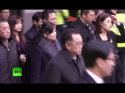 RT: Kim's girlfriend? N. Korean pop singer arrives in the South to check out Olympic art venues