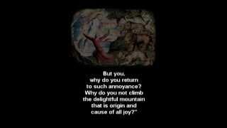Divine Comedy Inferno Canto 1-Purgatorio Canto 8 Italian Voice English Subtitles