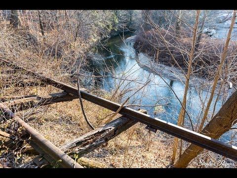 Abandoned Pennsylvania Railroad Chester Creek Branch