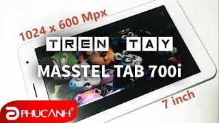 Trên tay & đánh giá nhanh Masstel Tab 700i | Tablet giá siêu rẻ, 3g, 2 sim, wifi thoải mái