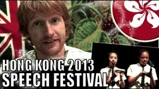 The Magic Piper by E.L. Marsh - Hong Kong Speech Festival 2013 Poem
