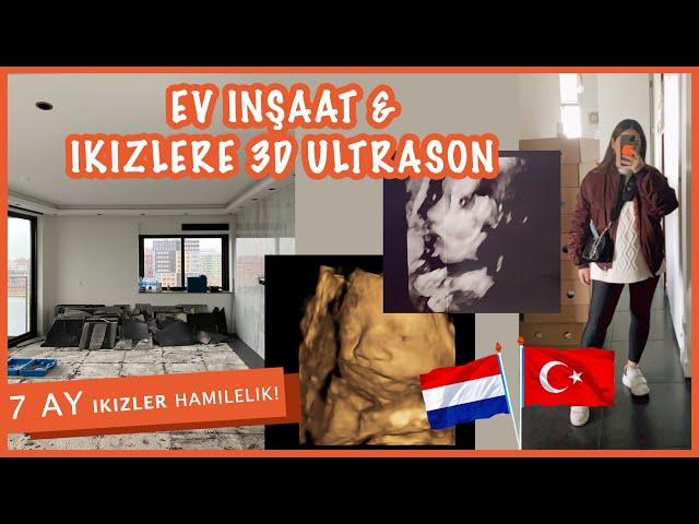 7 AYLIK IKIZLER HAMILELIK + EV INSAAT + 3D ULTRASON! (KORONA ILE ZOR ZAMANLAR)