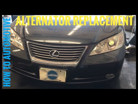 How to Replace the Alternator on a 2007-2012 Lexus ES 350