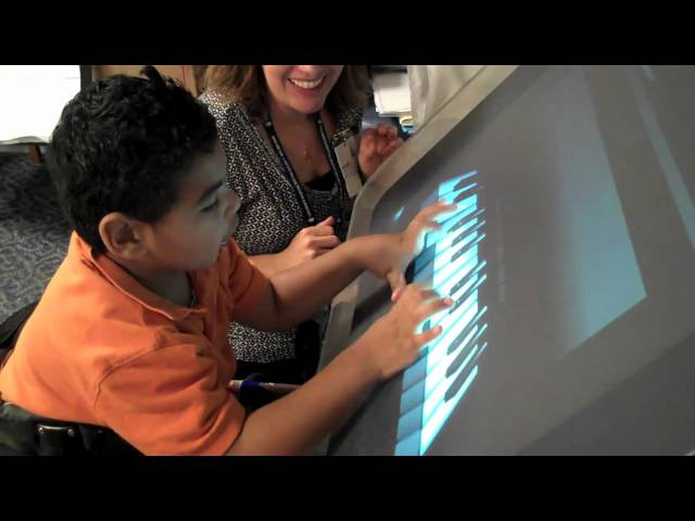 Cerebral Palsy Touchscreen Therapy Demo