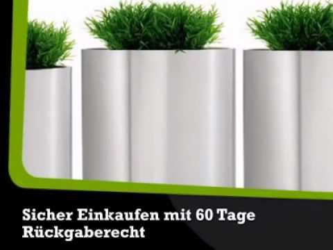 Edelstahl Blumentopf Greens Blomus Ella Homede Youtube