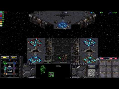 STARCRAFT HD - MARINE DEFENSE