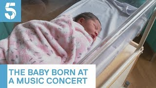 Woman gives birth to baby at Pink concert in Liverpool | 5 News