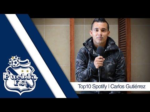 Puebla FC   Top10 Spotify   Carlos Gutiérrez