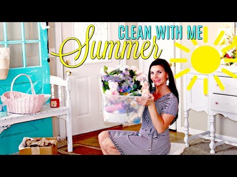 🌞SUMMER CLEAN WITH ME AFTER DIY MESS!! 🌞AWESOME CLEANING MOTIVATION / DITL DIY CRAFTER